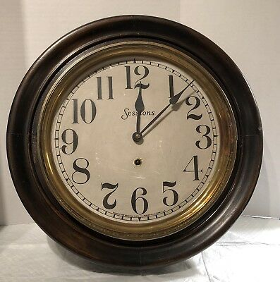 """Sessions """"Foyer"""" Wall Clock"""