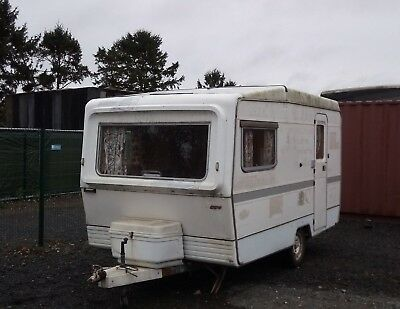 Vintage 1975 Ci Eccles 2 Berth 12Ft Classic Caravan Retro Restoration Delivery