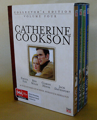 Catherine Cookson - Volume Four (4) - Box Set Dvd - 4 Stories