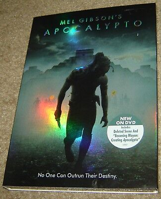Apocalypto (DVD, 2007), NEW & SEALED, RARE, REGION 1,WIDESCREEN, MEL GIBSON, OOP