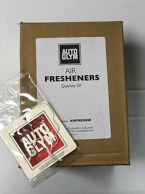 Autoglym Air Freshener Brand New Sealed X 50