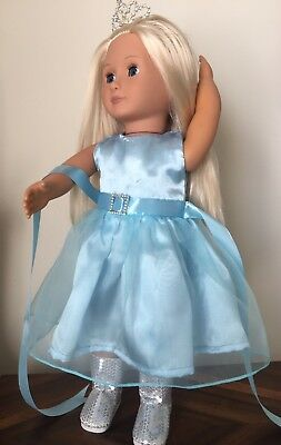 "Our Generation, American Girl, 18"" Doll,  Party Dress"
