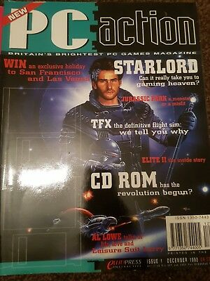PC ACTION magazine issues 1 to 6