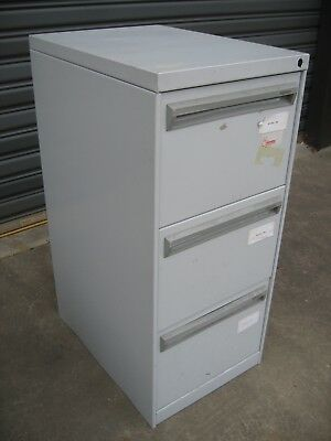 Namco 3  Drawer Filing Cabinet With File Holders,no Lock