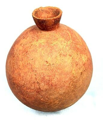 Art African Arts First Archaeology - Pottery Bura on Base - 18 Cm