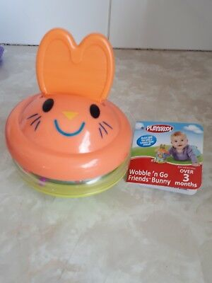 Playskool Wobble n go Friends Bunny  age over 3 months  brand new with tag