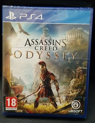 Assassin's Creed Odyssey Ps4 Neuf, Sous Blister. Vf