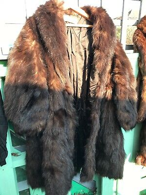 Vintage Jean Hassler Paris Fur Coat