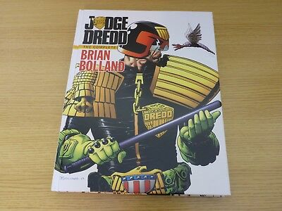 Judge Dredd The Complete Brian Bolland IDW Hardback Comic Book Art 2000AD 2013