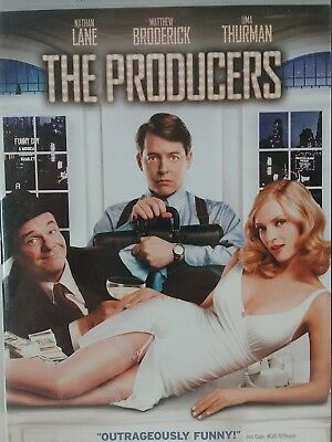 The Producers, Comedy, Nathan Lane, Matthew Broderick(DVD, 2006, Widescreen) (LL