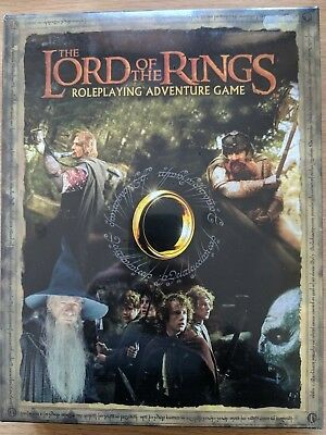 The Lord Of The Rings Roleplaying Adventure Game 2001 Decipher Unopened