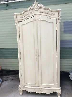 Beautiful original french armoire wardrode