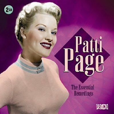 Patti Page - The Essential Recordings (2017)  2CD  NEW/SEALED  SPEEDYPOST