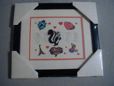 Pepe Le Pew Commemorative Pin and Lithograph Set Brand New From WBSS