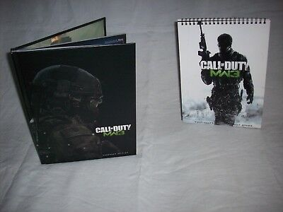Call Of Duty MW3 Hardback Edition Strategy Guide & Map Stand