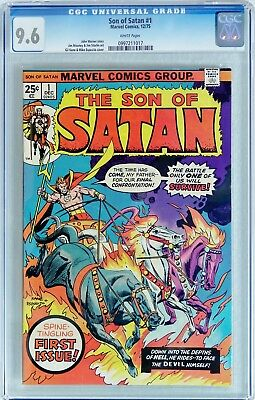 SON OF SATAN #1 (Marvel 1975) CGC 9.6 NM+ Gil Kane & Mike Esposito cover - WHITE