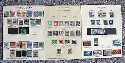 Ireland. Mint & Used Selection On Four Pages.