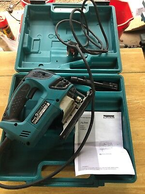 MAKITA 4350FCT 240 V JIGSAW SET Used A Few Times With Box 99p