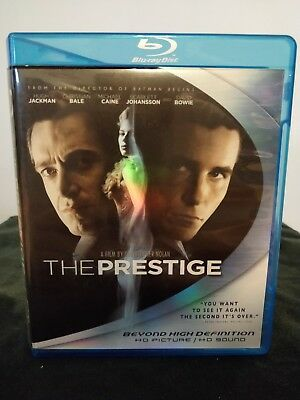 The Prestige (Blu-ray Disc, 2007) Jackman Bale