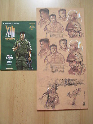 XIII Mystery Alan Smith Livret + 2X ex-libris publicitaires 2018 Edition DARGAUD