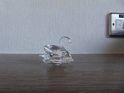 Swarovski Crystal Figure Small Swan, Unboxed