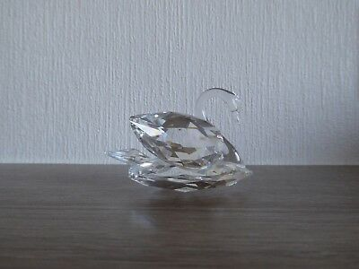 Swarovski Crystal Figure - 'Medium Swan', Unboxed