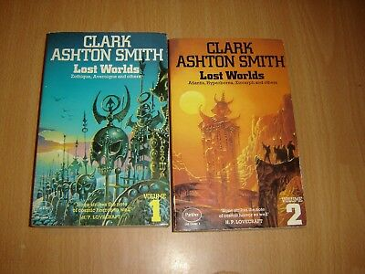 Clark Ashton Smith lost worlds vol 1&2
