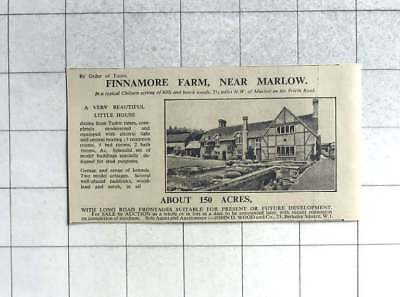 1935 Finnamore Farm Near Marlow For Sale With 150 Acres