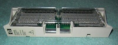 Hp E1442A 64-Channel Form C Switch Option 20 VXI Module Connector Block