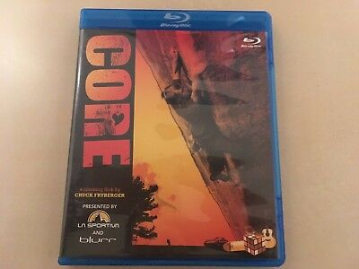 CORE - a climbing flick by Chuck Fryberger (Blu-ray), Zustand: sehr gut