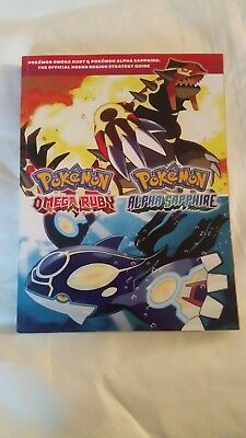 pokemon omega ruby alpha saphire official guide