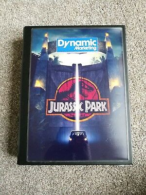 Jurassic Park Dynamic Marketing Trading Cards Set In Binder (Like Topps, Panini)
