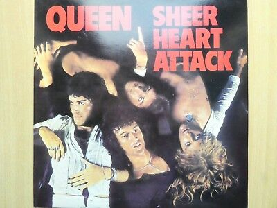 Queen - Sheer Heart Attack - 1974 LP Vinyl EM3061