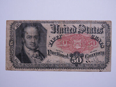 1849 10 Cents Banknote - US Fractional Currency