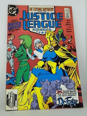 Justice League The Teasedale Imaparative 31 Oct 89