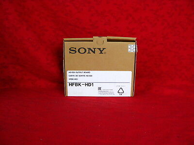 Sony Hfbk-Hd1 Hd - Sdi Output Board For Ptz Brc-H700 Never Used