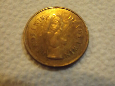 Vintage Heads I Win Tails You Lose Risque Nude Girl Woman Token Novelty fun Coin