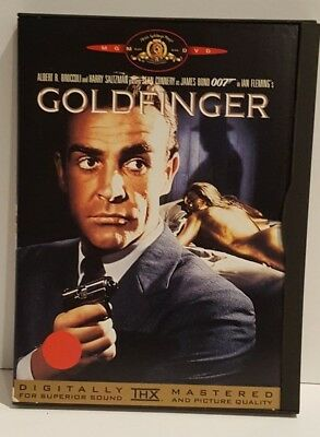 Goldfinger James Bond 007 (Dvd, 1999) Mgm Special Edition Widescreen Pg