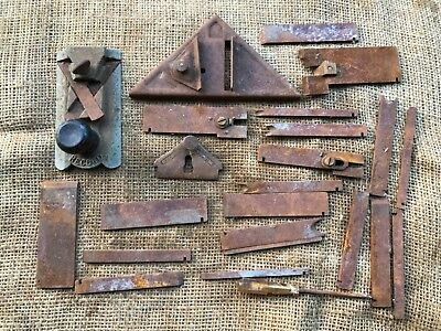 Used vintage Record 2506 Plane and other steel spares