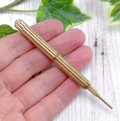 Antique / Vintage Small Rolled Gold Propelling Pencil