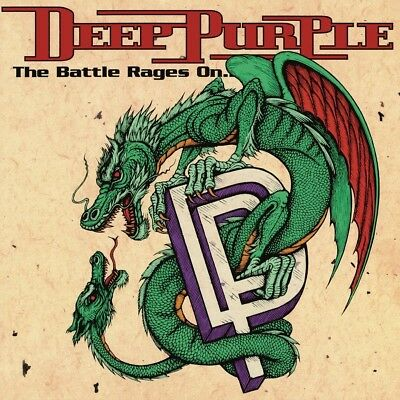 Deep Purple - The Battle Rages On   Vinyl Lp New!