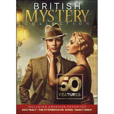 50 British Mystery Collection Including American Favorites DVD Ronald Howard
