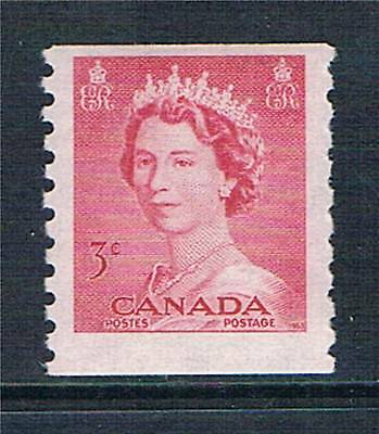 Canada 1953 3c Coil stamp SG 456 MNH