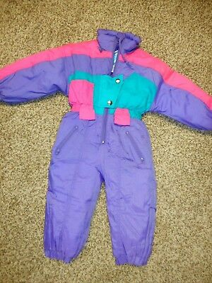 Girls Toddler's Snow Suit by Ski Slope Sz 2T CUTE