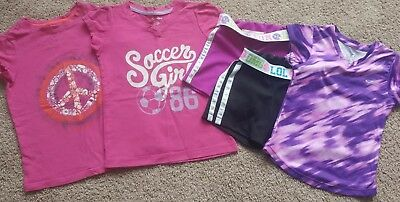 5Pc. Girls Clothes Lot Size 4-5 Girls Mixed Lot Spring Summer Sz 4 5 gap & more