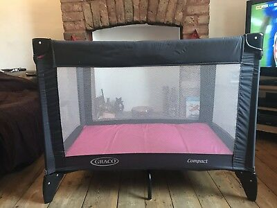 Immaculate Condition Graco Compact Travel Cot