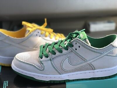 check out 55873 871e2 Nike SB Zoom Dunk Low Pro Decon QS Ishod Wair White Verde Yellow AR1399-113
