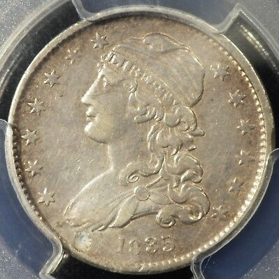 1835 Capped Bust Quarter PCGS  graded XF   Details Damage