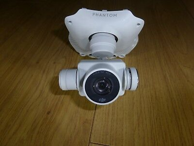 Dji Phantom 4 drone F2.8 4K camera  Gimble assembley untested.