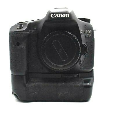 Canon EOS 7D 18.0MP Digital SLR Camera w/ Battery Grip and Wired Remote Switch
